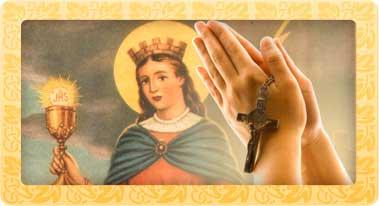 Oraciones Santa Barbara